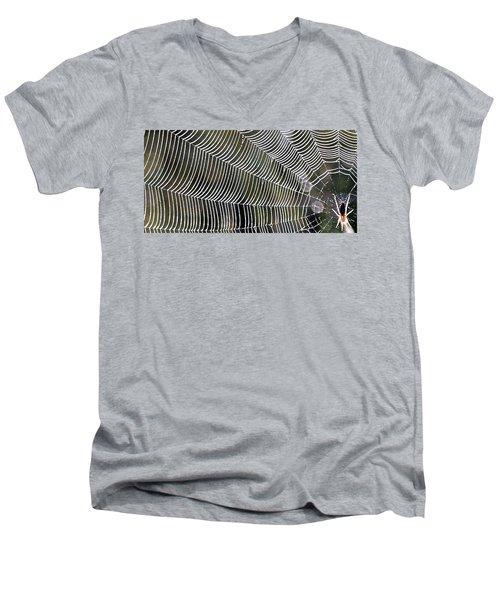 Choose Wisely Men's V-Neck T-Shirt by John Glass