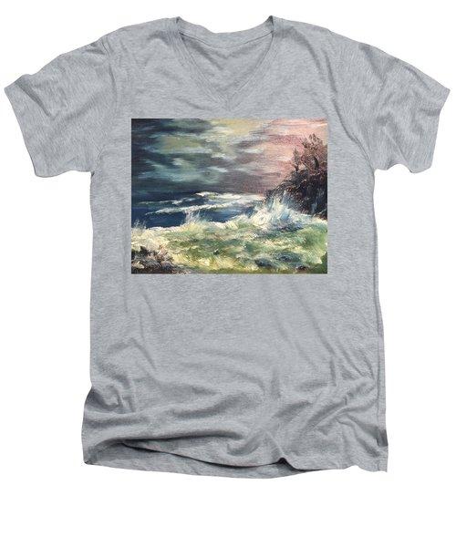 Choppy Seas 1 Men's V-Neck T-Shirt