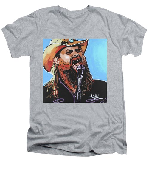 Chris Stapleton Men's V-Neck T-Shirt