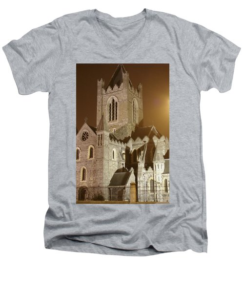 Christ Church Dublin Ireland Men's V-Neck T-Shirt