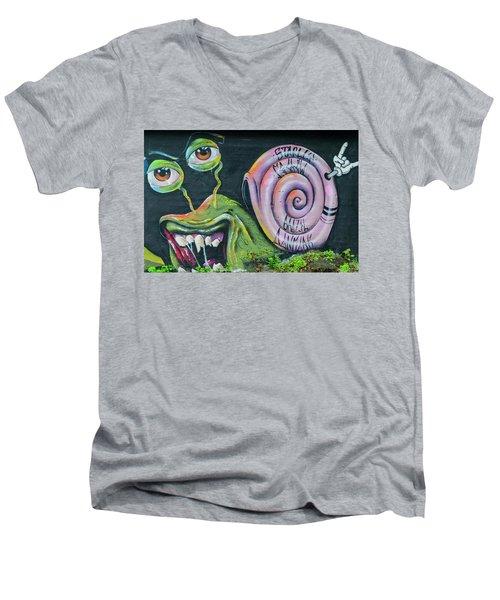 Christiania Mural Men's V-Neck T-Shirt