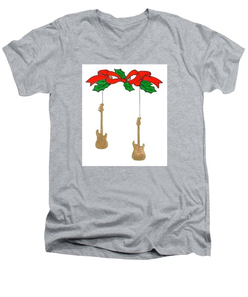 Christmas3 Men's V-Neck T-Shirt
