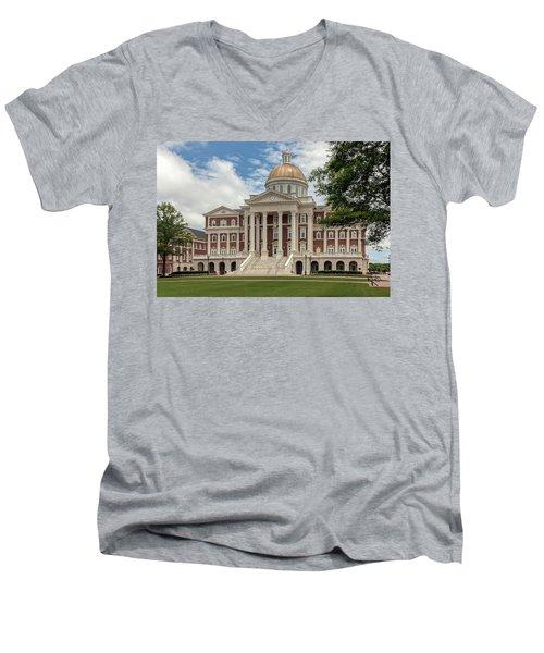 Christopher Newport Hall Men's V-Neck T-Shirt