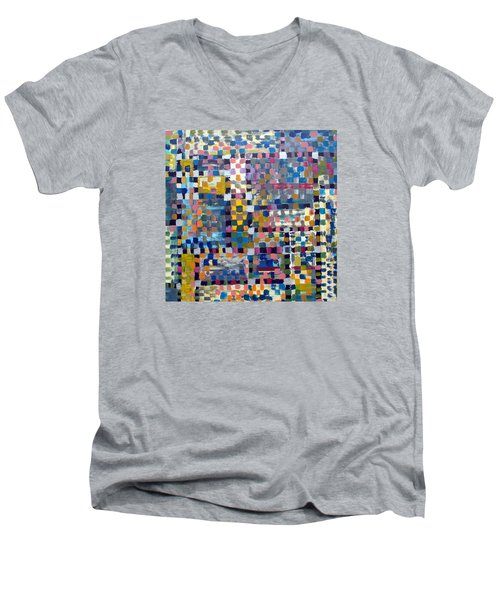 Chromatic Indulgence Men's V-Neck T-Shirt