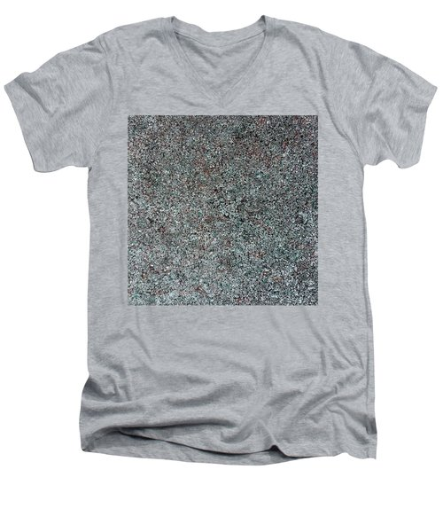 Chrome Mist Men's V-Neck T-Shirt
