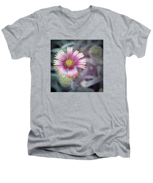 Chrysanthemum Men's V-Neck T-Shirt