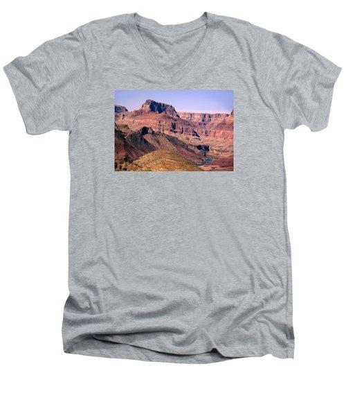 Chuar Butte  Grand Canyon National Park Men's V-Neck T-Shirt