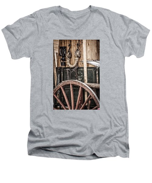 Chuck Wagon Men's V-Neck T-Shirt