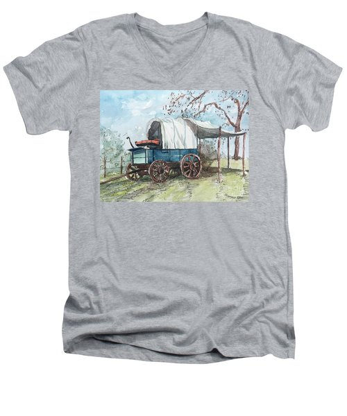 Chuck Wagon Men's V-Neck T-Shirt