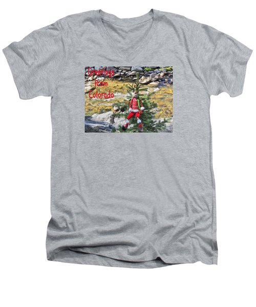 Chumps Christmas Men's V-Neck T-Shirt