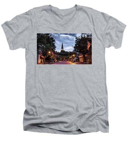 Church Circle Men's V-Neck T-Shirt