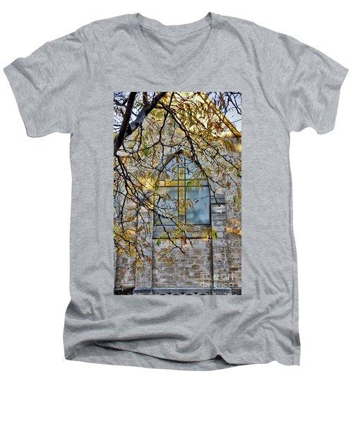 Church Ghost Men's V-Neck T-Shirt