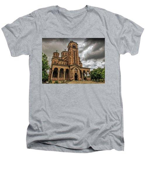 Church Of Saint Mark Men's V-Neck T-Shirt