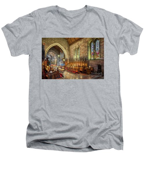 Church Organist Men's V-Neck T-Shirt