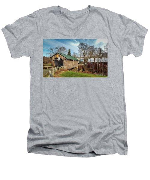 Church Street Bridge Men's V-Neck T-Shirt