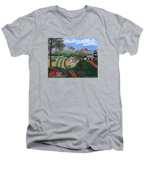 Cider Valley Men's V-Neck T-Shirt