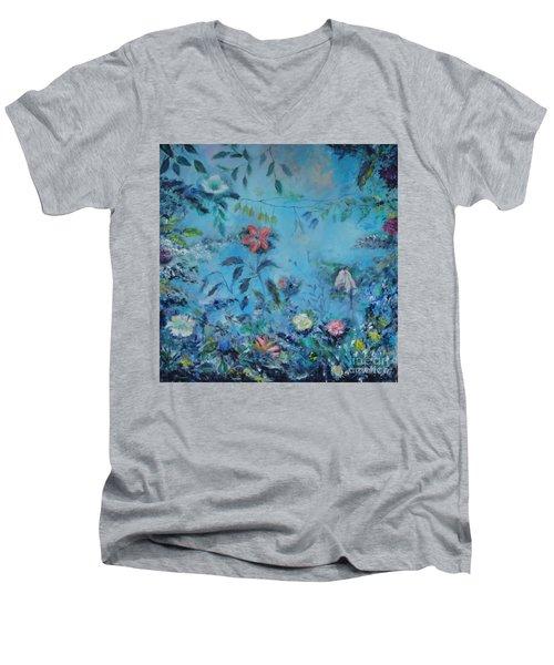 Cinderellas Garden Men's V-Neck T-Shirt