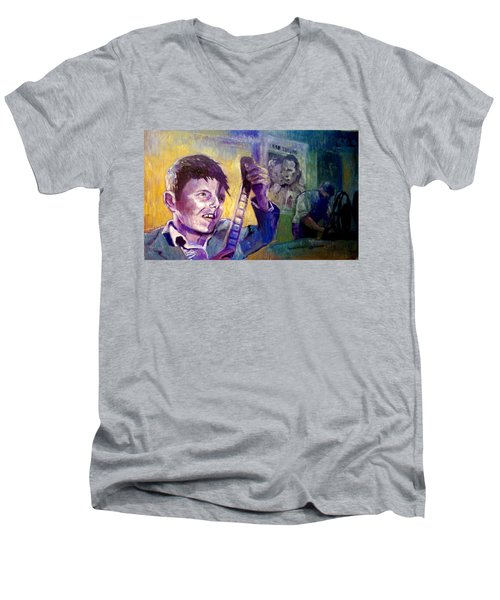 Cinema Paradiso Men's V-Neck T-Shirt