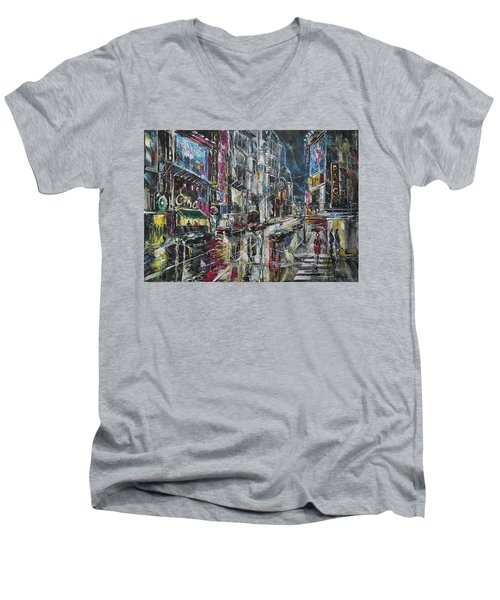 Cinema Time Men's V-Neck T-Shirt