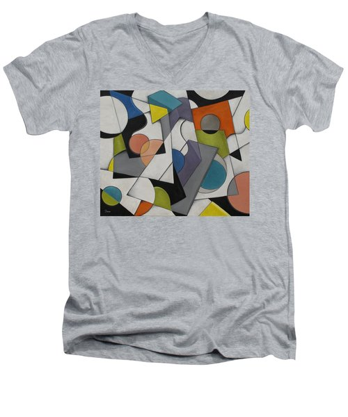 Circles Of Life Men's V-Neck T-Shirt