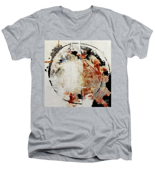 Circles Of War Men's V-Neck T-Shirt