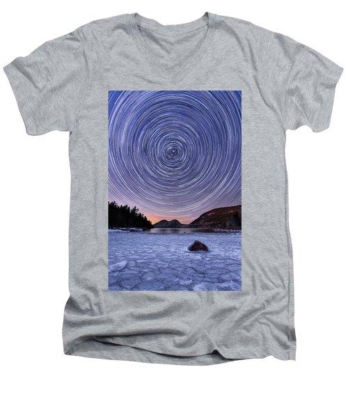 Circles Over Bubbles Men's V-Neck T-Shirt