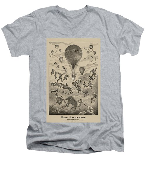 Circus Balloon Men's V-Neck T-Shirt