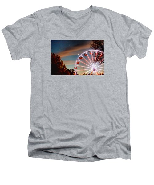 Circus Dusk Men's V-Neck T-Shirt