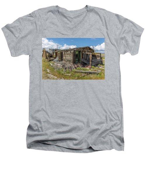 Cisco, Utah, Ghost Town Men's V-Neck T-Shirt