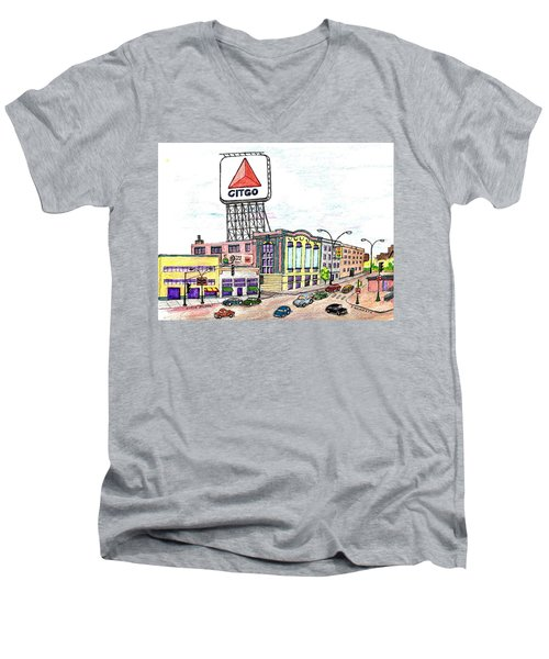 Citco Boston Men's V-Neck T-Shirt