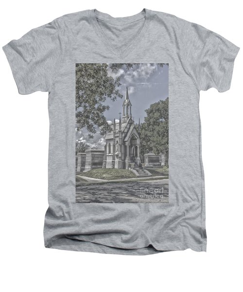 Cities Of The Dead Men's V-Neck T-Shirt by Janice Spivey