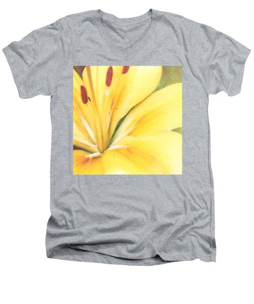 Citrine Blossom Men's V-Neck T-Shirt