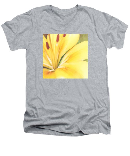Citrine Blossom Men's V-Neck T-Shirt