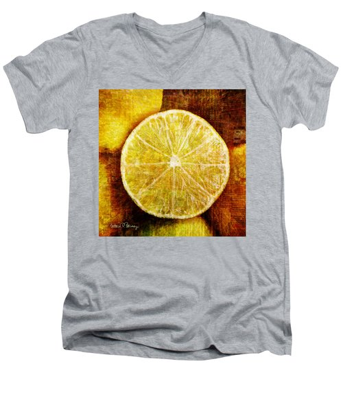Citrus Men's V-Neck T-Shirt