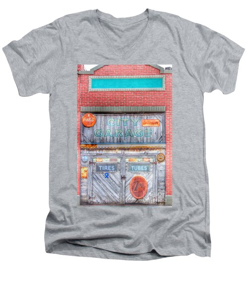 City Garage Men's V-Neck T-Shirt