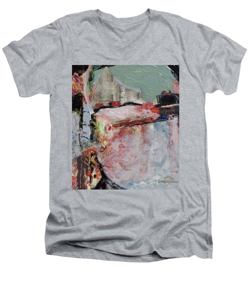 City Hide Out Men's V-Neck T-Shirt