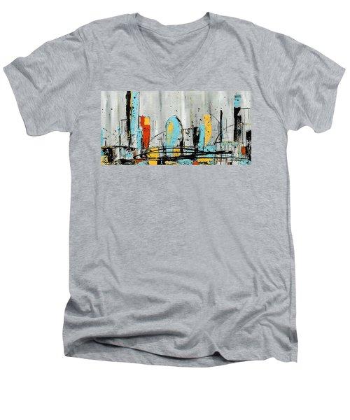 City Limits Men's V-Neck T-Shirt