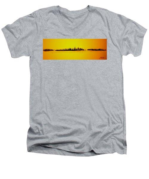 City Of Gold Men's V-Neck T-Shirt