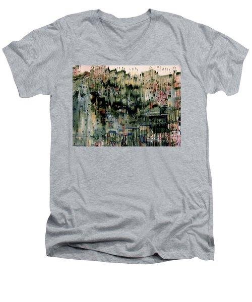 City On A Hill Men's V-Neck T-Shirt