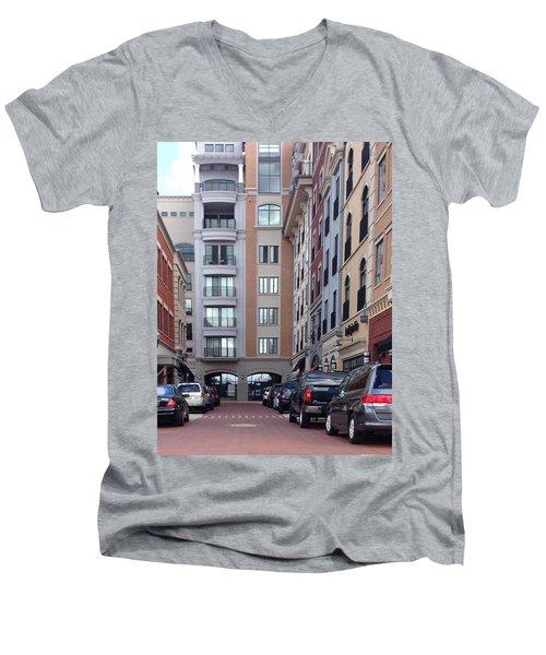 City Scene Men's V-Neck T-Shirt
