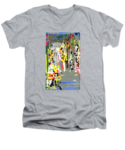 City Shopers Men's V-Neck T-Shirt