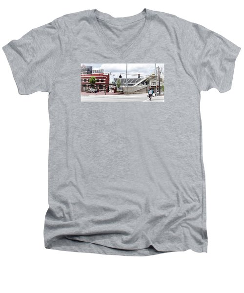 City Stadium Men's V-Neck T-Shirt