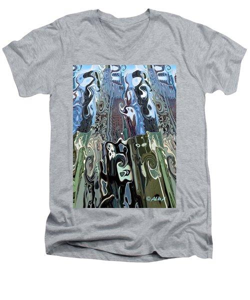 City Towers Men's V-Neck T-Shirt