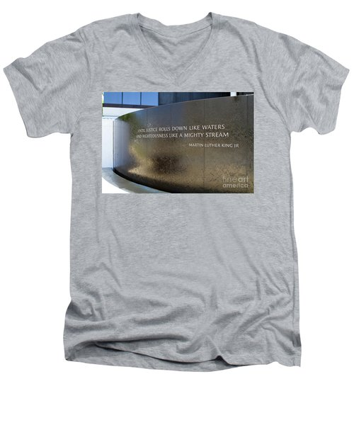 Civil Rights Memorial Men's V-Neck T-Shirt