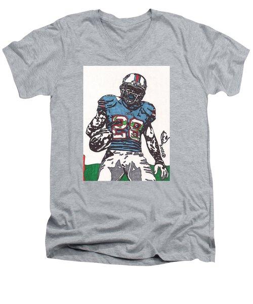 Cj Spiller 1 Men's V-Neck T-Shirt