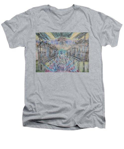 Claiming Of The Soul Men's V-Neck T-Shirt