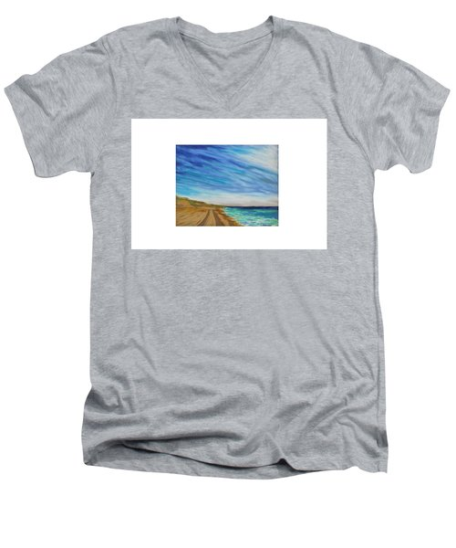 Clammin Home Men's V-Neck T-Shirt