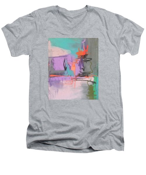 Class Play Men's V-Neck T-Shirt