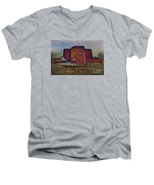 Classic Adobe Men's V-Neck T-Shirt
