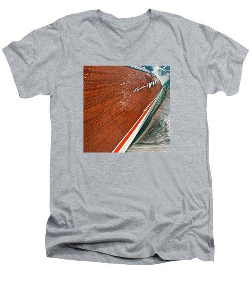 Classic Aquarama Men's V-Neck T-Shirt